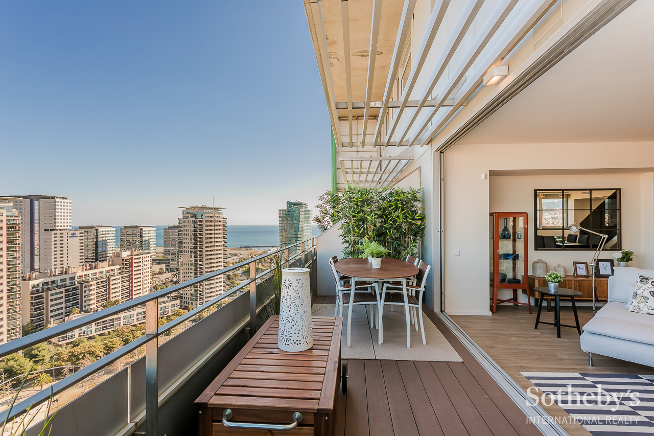 Duplex penthouse in the exclusive area of Diagonal Mar Diagonal Mar, Barcelona