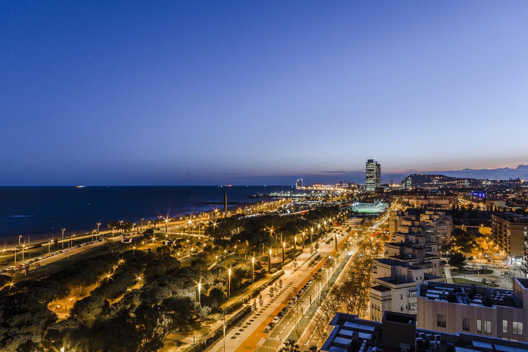 panoramic views in Barcelona